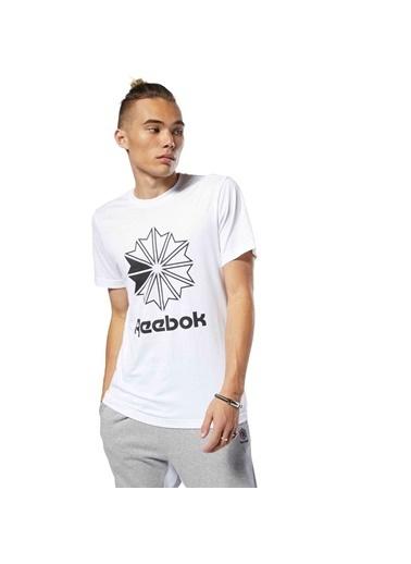 Reebok Classıcs Bıg Logo Tışört Beyaz